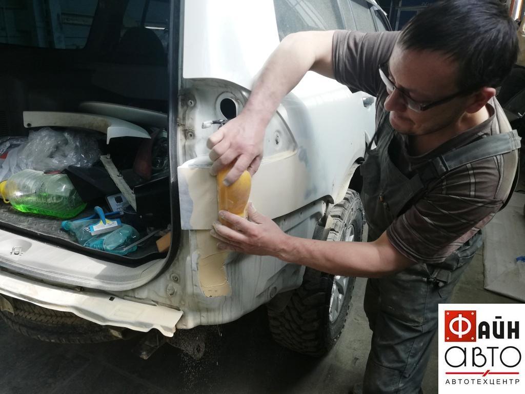 Кузовной ремонт Митсубиси